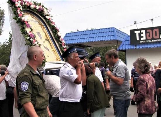 В Моздоке начался традиционный Крестный ход с чудотворным образом Божией Матери Моздокской