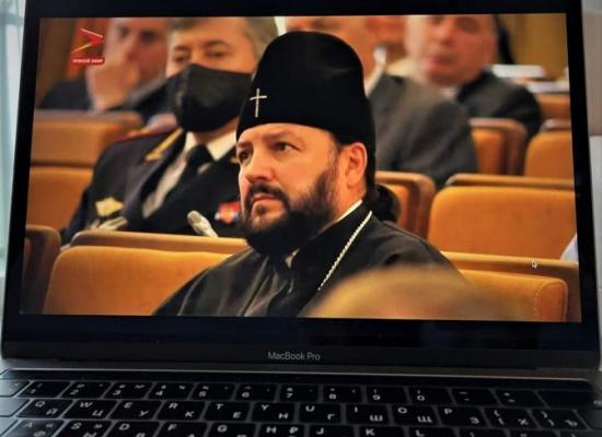 Архиепископ Леонид принял участие в церемонии вступления в должность главы РСО-Алания