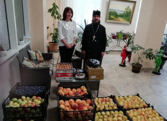 Благотворительная акция в праздник Рождества Пресвятой Богородицы