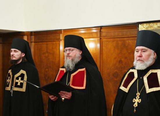 Слово архимандрита Герасима (Шевцова) при наречении во епископа Владикавказского и Аланского