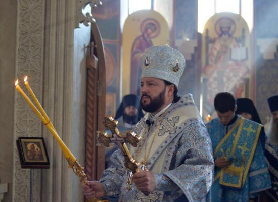 Архиепископ Леонид отслужит Божественную литургию и попрощается с верующими Владикавказской епархии