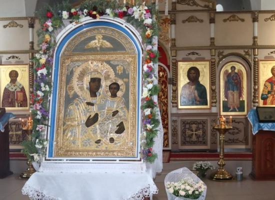 Маршрут крестного хода с чудотворным образом Моздокской Божией Матери в Пригородном районе