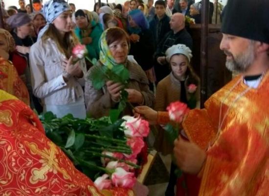 В Аланском Успенском мужском монастыре отметили престольный праздник