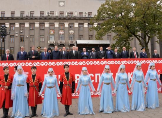 Епископ Леонид принял участие в торжествах, посвященных Дню республики и города Владикавказа