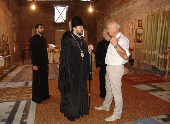 Владыка Леонид совершил рабочие поездки по храмам Иристонского благочиния