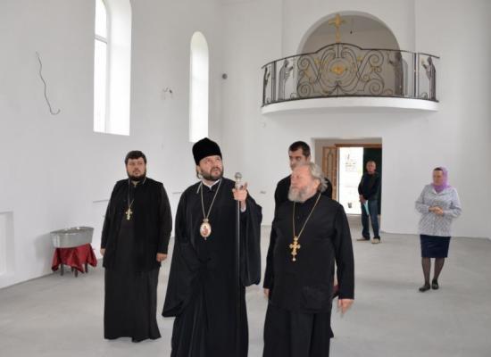 Епископ Леонид посетил станицу Архонскую