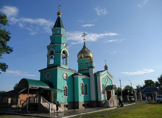 Храм в честь Пресвятой Живоначальной Троицы с.Ногир