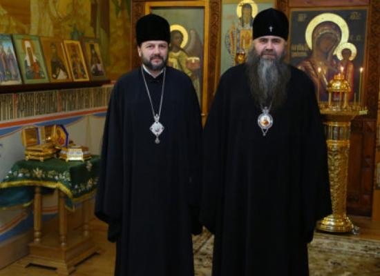 Глава Нижегородской митрополии принял в своей резиденции епископа Владикавказского и Аланского Леонида