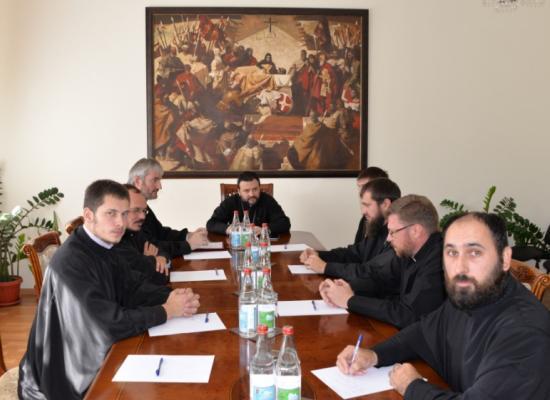 Духовенство Георгиевского кафедрального собора обсудило вопросы деятельности прихода
