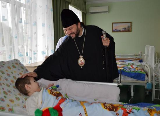 Епископ Леонид посетил республиканский детский дом-интернат «Ласка»