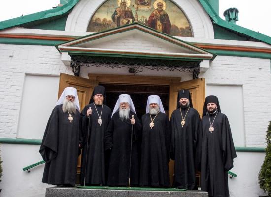 Епископ Леонид принял участие в торжествах по случаю пятидесятилетнего юбилея епископа Подольского Тихона