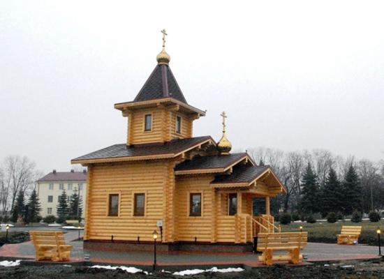 Храм во имя Всех святых в земле Российской просиявших, военный городок «Спутник»