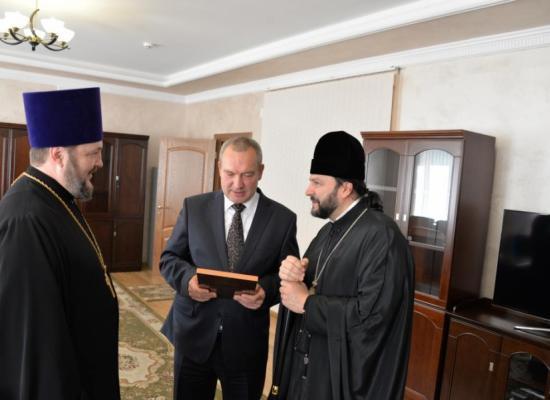 Епископ Леонид посетил Пограничное управление ФСБ России по РСО-Алания