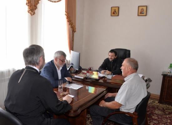 Епископ Леонид провел совещанияпо вопросам строительства и восстановления храмов Владикавказской епархии