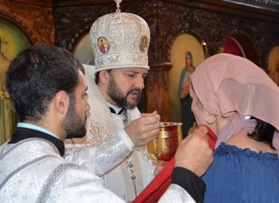 В праздник Преображения епископ Леонид возглавил Литургию в Вознесенском соборе г. Алагира