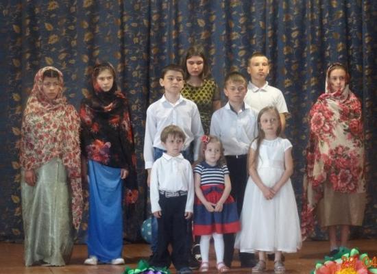 В ст. Ново-Осетинской состоялся детский Пасхальный концерт