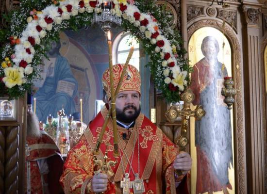 Архиепископ Леонид возглавил престольный праздник в Аланском Богоявленском женском монастыре