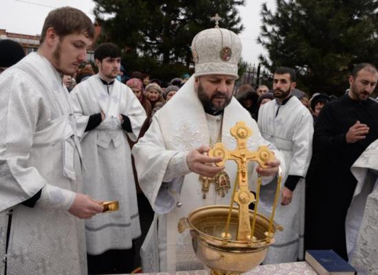 В праздник Крещения Господня во Владикавказе состоится чин великого водоосвящения вод Терека