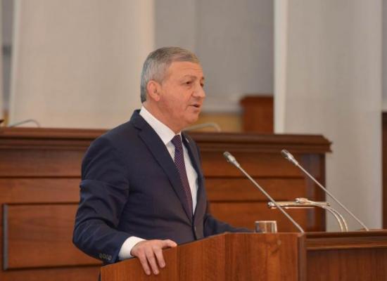 Вячеслав Битаров представил ежегодное Послание Парламенту Республики Северная Осетия – Алания
