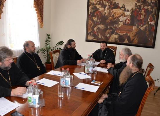 Епископ Леонид провел собрание благочинных Владикавказской епархии