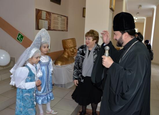 В Православной гимназии им. Аксо Колиева состоялось посвящение в гимназисты