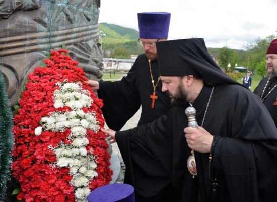 Духовенство Владикавказской епархии почтило память воинов, защищавших родину