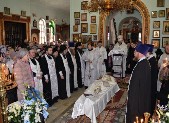 Верующие Осетии простились с иеромонахом Иосифом (Березовым)