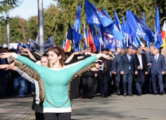 Епископ Леонид принял участие в праздновании Дня народного единства