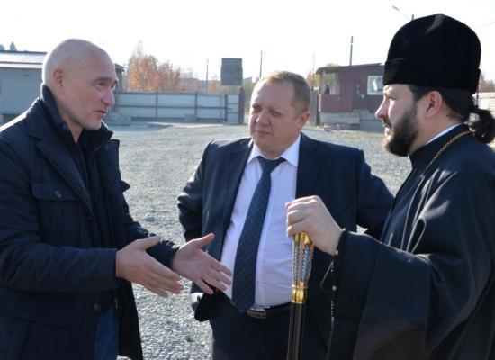 В управлении Владикавказской епархии обсудили вопросы строительства собора святого Александра Невского