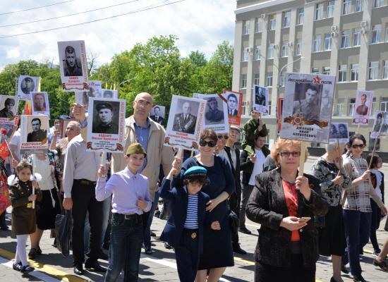 Епископ Леонид принял участие в торжествах по случаю Дня Победы