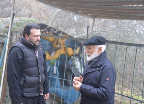 Епископ Леонид познакомился с творчеством Сосланбека Едзиева