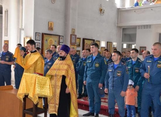 В Свято-Георгиевском кафедральном соборе состоялся традиционный молебен перед иконой Пресвятой Богородицы «Неопалимая Купина»