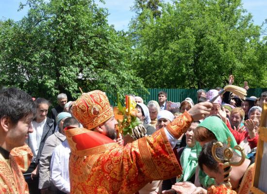 В храме Николая Чудотворца в селении Бирагзанг отметили престольный праздник