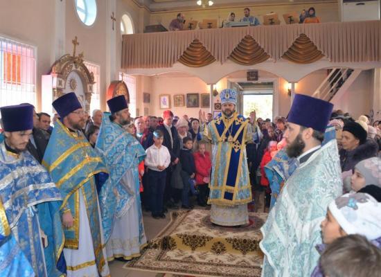 В праздник Введения во храм Пресвятой Богородицы епископ Леонид посетил Моздок