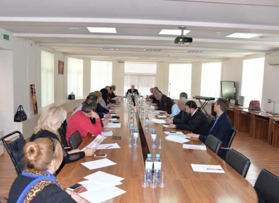 Епископ Леонид принял участие в заседании Общественной палаты Северной Осетии