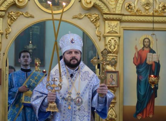 Архиепископ Леонид возглавил торжества в праздник Сретения Господня