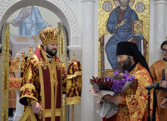 День тезоименитства архиепископа Владикавказского и Аланского Леонида. Видео