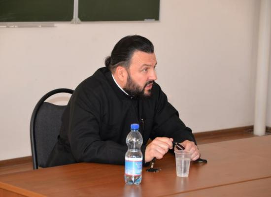 Архиепископ Леонид прочитал лекцию на курсах повышения квалификации для духовенства