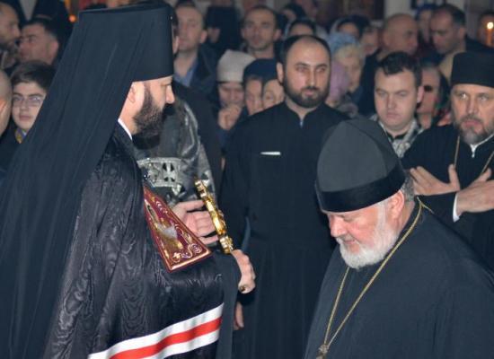 Верующие и духовенство Владикавказской епархии завершили подготовку к Великому посту чином прощения