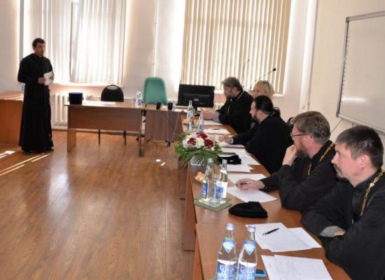 Завершились курсы повышения квалификации для духовенства Владикавказской епархии