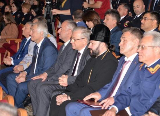 Архиепископ Леонид принял участие в торжествах по случаю Дня сотрудников органов внутренних дел