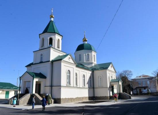 Храм в честь святого благоверного князя Александра Невского ст.Архонская