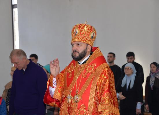 Анонс Богослужений с участием епископа Владикавказского и Аланского Леонида