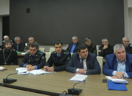 В Доме Правительства обсудили вопросы деятельности казачьих организаций Северной Осетии