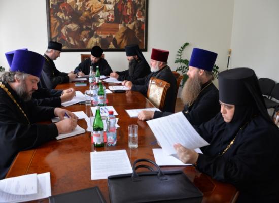 Во Владикавказе состоялось заседание Епархиального совета
