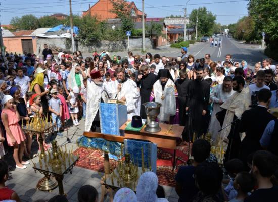 Епископ Леонид возглавил традиционный молебен на начало учебного года