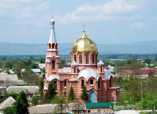 Храм святого великомученика Георгия Победоносца г.Ардон