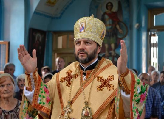 Епископ Леонид возглавил богослужение в Георгиевском храме г. Ардона