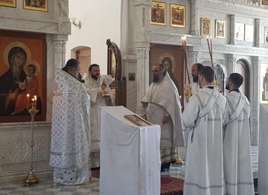 В Покровском храме г. Еревана состоялась первая архиерейская служба