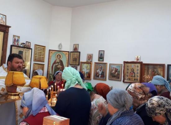 В часовне святителя Луки на территории КБСП отметили престольный праздник